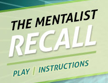 The Mentalist Recall Flash Game